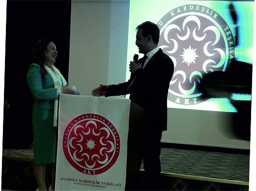Ankara ANADOLU KARDEŞLİK TEŞKİLATI İLE TANIŞTI