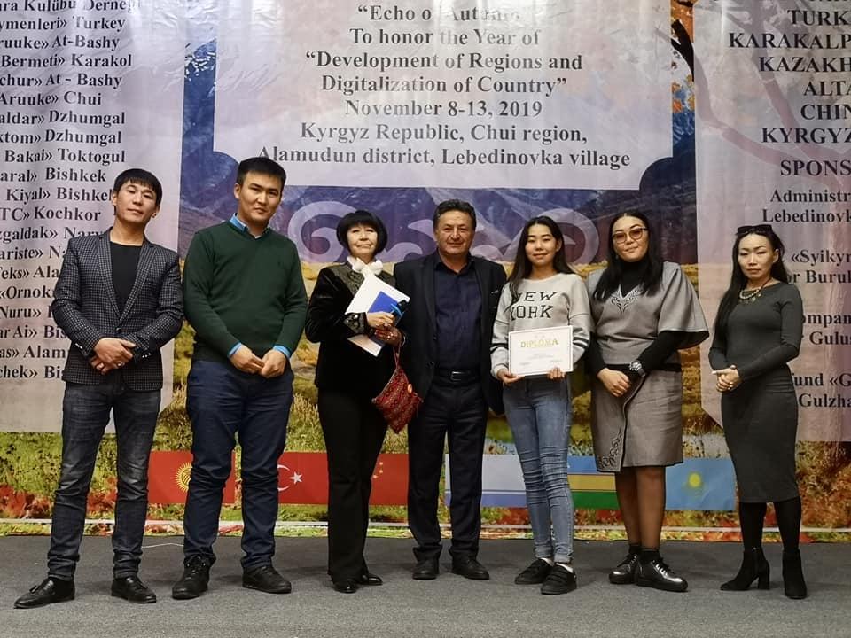 Ankara Kulübü, Kırgızistan'da Dans ve Müzik Yarışması Düzenledi