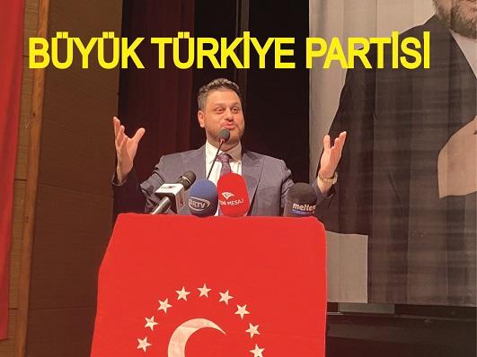 """BTP'den seçim barajı değerlendirmesi: """" Halkın tamamı TBMM'de temsil edilmeli """""""