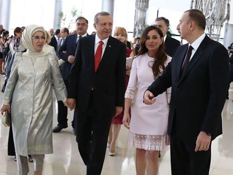 CUMHURBAŞKANI ERDOĞAN KARDEŞ ÜLKE AZERBAYCAN'DA .. ERDOĞAN ÇARŞAMBA GÜNÜ MİLLİ TAKIMIN MAÇINI İZLEYECEK