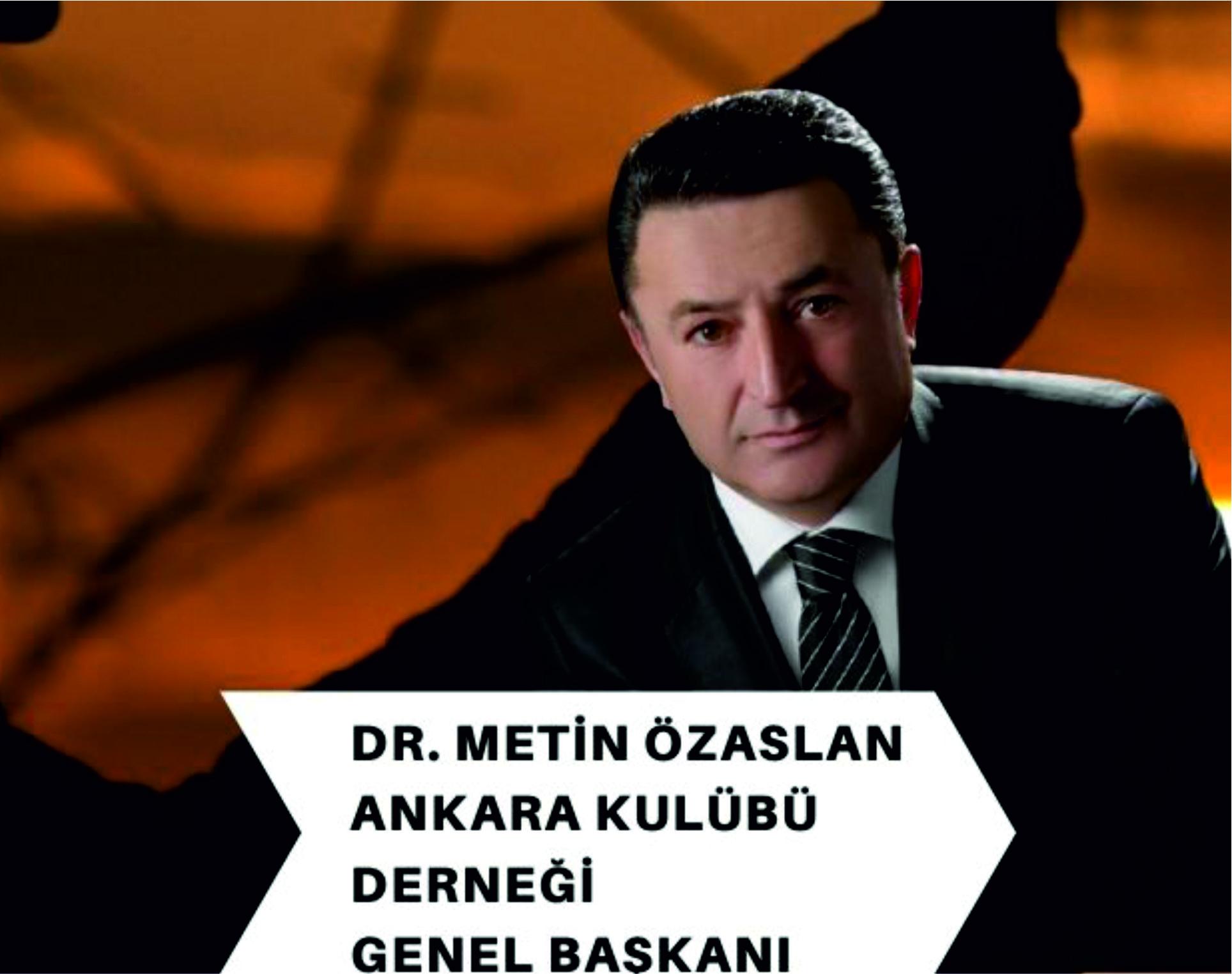 Dr. Metin ÖZASLAN, Atatürk'ün Ankara'ya Gelişinin 101. Yılını kutladı.