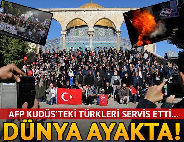 REZİL ABD ORTAMI GERDİ, Türkiye Kudüs için ayakta!