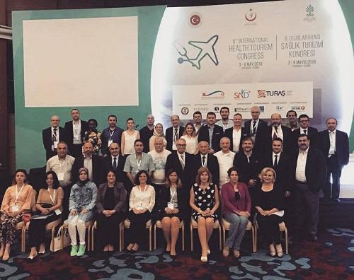 Uluslararası Sağlık Turizmi Kongresi yapıldı