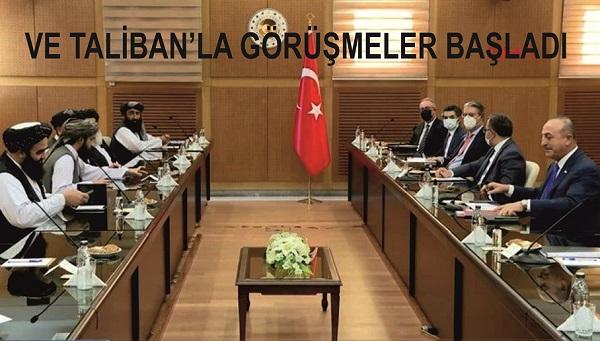 VE NİHAYET TALİBAN HEYETİ TÜRKİYE'YE GELDİ !...