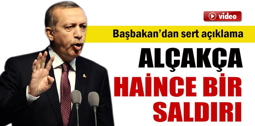 Başbakan Erdoğan'dan sert kaset açıklaması